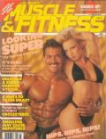 Lee Labrada, Traci Lords on the cover of Muscle Fitness (United States) - March 1988
