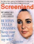 Elizabeth Taylor on the cover of Screenland (United States) - February 1969