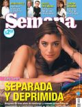Carla Conte on the cover of Semana (Argentina) - September 2007