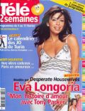 Eva Longoria on the cover of Tele 2 Semaines (France) - February 2006