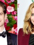 Andrew Garfield and Susie Abromeit