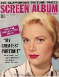 Grace Kelly on the cover of Screen Album (United States) - November 1955
