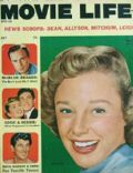 June Allyson on the cover of Movie Life (United States) - July 1955