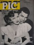 Hannah Williams, Hannah Williams and Jack Dempsey, Jack Dempsey on the cover of Pic (United States) - November 1937