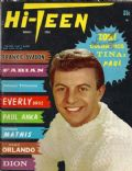 Dion DiMucci on the cover of Hi Teen (United States) - October 1962