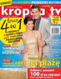 Agnieszka Sienkiewicz on the cover of Kropka TV (Poland) - July 2013