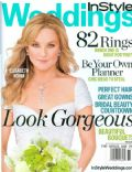 Elisabeth Röhm on the cover of Instyle Weddings (United States) - December 2007