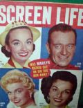 Ann Blyth, Doris Day, Jane Russell, John Wayne on the cover of Screen Life (United States) - September 1955