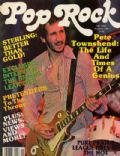 Pete Townshend on the cover of Pop Rock (United States) - November 1980