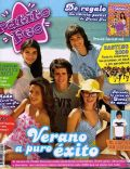 Brenda Asnicar, Eva De Dominici, Gastón Soffriti, Laura Esquivel on the cover of Patito Feo (Argentina) - February 2008