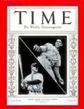 Lou Gehrig on the cover of Time (United States) - October 1936