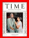 Alfred Lunt, Alfred Lunt and Lynn Fontanne, Lynn Fontanne on the cover of Time (United States) - November 1937