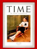 Sonja Henie on the cover of Time (United States) - July 1939