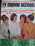Dianne Lennon on the cover of TV and Movie Screen (United States) - January 1967