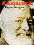 Ernest Hemingway on the cover of Esquire (United States) - October 1970