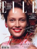 Karmen Pedaru on the cover of Elle (France) - March 2014