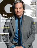 Jeff Bridges on the cover of Gq (United States) - October 2013