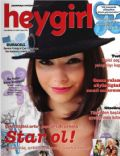 Merve Bolugur on the cover of Hey Girl (Turkey) - October 2007