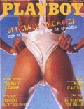 Sandra Greenberg on the cover of Playboy (Italy) - August 1987