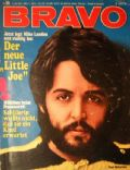 Paul McCartney on the cover of Bravo (Germany) - October 1970