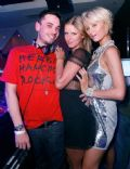 Adam Goldstein and Paris Hilton