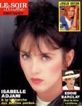 Isabelle Adjani on the cover of Le Soir Illustre (France) - May 1988