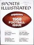 Sports Illustrated Magazine [United States] (22 September 1958)