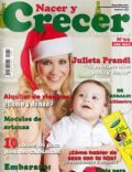 Julieta Prandi on the cover of Nacer Y Crecer (Argentina) - December 2011