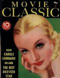 Carole Lombard on the cover of Movie Classic (United States) - May 1935