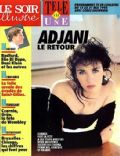 Isabelle Adjani on the cover of Le Soir Illustre (France) - May 1993