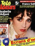 Isabelle Adjani on the cover of Tele Loisirs (France) - May 1993