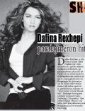 Dafina Rexhepi on the cover of Sh2 Magazine (Kosovo) - March 2011