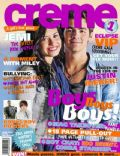 Demi Lovato, Demi Lovato and Joe Jonas, Joe Jonas on the cover of Creme (New Zealand) - June 2010