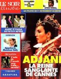 Isabelle Adjani on the cover of Le Soir Illustre (France) - May 1994