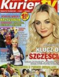 Malgorzata Socha on the cover of Kurier TV (Poland) - December 2013