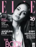 Angelina Jolie on the cover of Elle (Czech Republic) - June 2014
