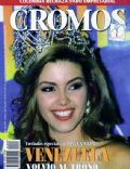 Alicia Machado on the cover of Cromos (Colombia) - May 1996
