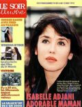 Isabelle Adjani on the cover of Le Soir Illustre (France) - March 1995