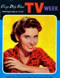Elinor Donahue on the cover of TV Week (United States) - February 1961