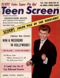Bobby Rydell on the cover of Teen Screen (United States) - July 1961