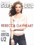 Rebecca Gayheart on the cover of Steppin Out (United States) - April 2005