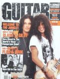 Gilby Clarke, Slash on the cover of Guitar World (United States) - November 1992