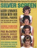 Dianne Lennon on the cover of Silver Screen (United States) - October 1967