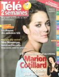 Marion Cotillard on the cover of Tele 2 Semaines (France) - February 2007