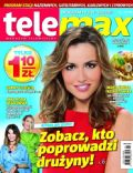 Marta Zmuda on the cover of Tele Max (Poland) - February 2012
