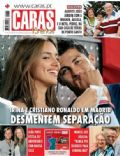 Cristiano Ronaldo, Irina Shayk on the cover of Caras (Portugal) - August 2010