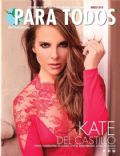Kate del Castillo on the cover of Para Todos (Mexico) - March 2014