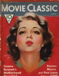 Sidney Fox on the cover of Movie Classic (United States) - July 1932