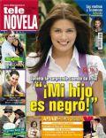 Alejandra Lazcano, Cielo Rojo, Daniel Martínez, Danny Gamba on the cover of Tele Novela (Spain) - April 2012