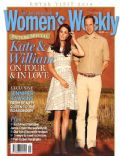 Kate Middleton, Prince William Windsor on the cover of Womens Weekly (Australia) - May 2014